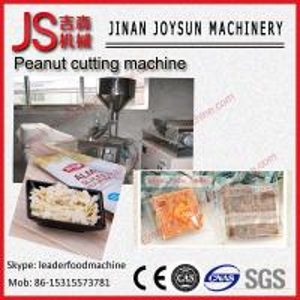 Quality Quadrate Adjustable Peanut Cutting Machine Slicer 300W wholesale