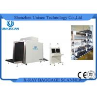 Quality Security Airport Baggage Checking X Ray Luggage Scanner With Dual Energy Generator wholesale