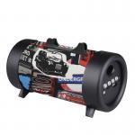 Quality CH-M03 medium barrel with flashlight bluetooth speakerTwo hands free bluetooth speaker Blue / Camouflage Green / Flag wholesale