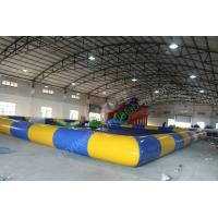 China Inflatable slide with pool,inflatable gaint slide,Amusement water Park on sale