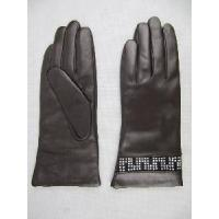 China Lady′s Leather Gloves (JYG-27113) on sale