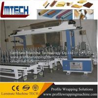 Cheap pvc Door frame Profile wrapping machine for sale