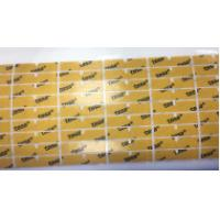 China LCD And Badge Die Cut Adhesive Tape , Acrylate Adhesive Composition Technology on sale