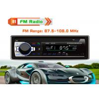 China Android Auto Car Music Player FM Radio With Bluetooth Full IR Remote Control on sale