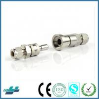 China Swagelok stainless steel quick connects coupling tube fittings pipie fittings joints on sale