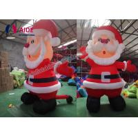 Cheap Holiday Christmas Man Blow Up Santa Claus Inflatables For Event Advertise for sale