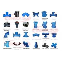 all kinds of ductile iron pipe fitting