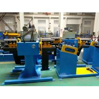 China 3Ton Double Head Decoiler + 7-Roll Leveler on sale