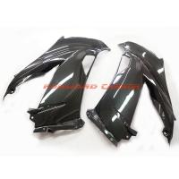 Buy cheap Quality carbon fiber motorcycle parts carbon fibre side fairings for Kawasaki ZX6R 2013 product