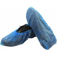 China Disposable CPE Shoe Cover Plastic Overshoe Made By Hand Wholesale on sale