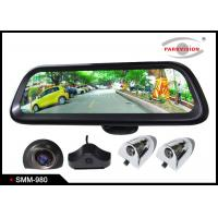 Quality Android GPS 9.8 Inch Full HD Car Rearview Mirror Monitor Rear View System 4 Camera DVR Recording wholesale