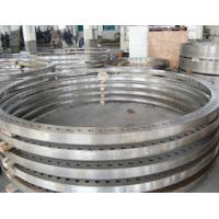 China Custom S355+N Forged Alloy Steel Rolled Ring Forgings Flange ASTM DIN on sale