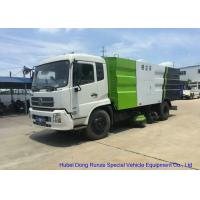 Quality Kingrun Vacuum Road Sweeper Truck For Dust Suction , Street Sweeper Vacuum Truck wholesale