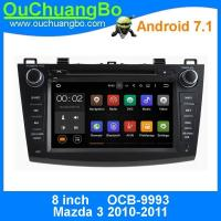 Quality Ouchuangbo car gps navigation stereo android 7.1 for Mazda 3 support Bluetooth music 3g wifi BT 1080P video wholesale