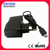 Buy cheap 5V DC 2A switching Power Adapter with EU plug , external ac power adapter from wholesalers