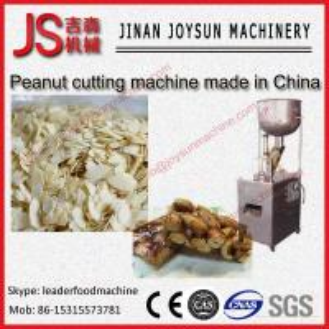 Quality Adjustable Peanut / Almond Slicer Machine Peanut Cutting Machine 300kg / h wholesale