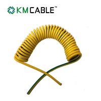 Quality Solar Light Tower coiled electrical cable 7 core0.75sqmm TPU flexible extension cord wholesale
