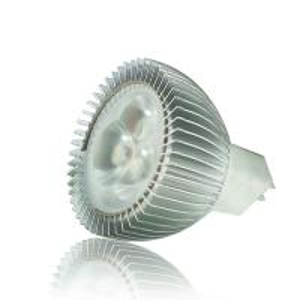 Quality 60Hz 1W Cool White LED MR16 Lamps DC 12V , High Power LED MR16 Bulbs wholesale