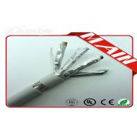 Quality 8 Cores Ethernet Network Cable SSTP Cat 7 23 Awg Bare Copper PVC Shielded wholesale