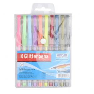 China 12pcs 10pcs gel pen set of China supplier glitter pen on sale