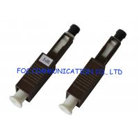 Quality MU Multimode Fiber Optic Attenuator , Optical Fiber Attenuator 5dB For CATV wholesale