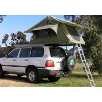 Quality Fireproof 4 Person Roof Top Tent , Folding Roof Tent With Large Window wholesale
