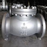 China BS1868 Cast Steel Swing Check Valve ASTM A216 WCB,13%Cr Trim, 8 Inch RF,class 150LB on sale