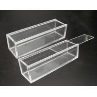 Quality Customized Portable acrylic display case with lock , scratch resistance wholesale