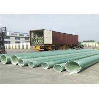 China Fiberglass GRP Pipe for Drainage water supply lines DN300 DN400 DN500 on sale