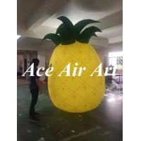 Quality large 3m H vivid inflatable pineapple model for advertising wholesale