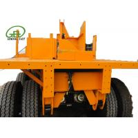 Buy cheap 40ft Length Flatbed Semi Trailer , Heavy Duty Flatbed Trailer 30T - 60T Capacity from wholesalers