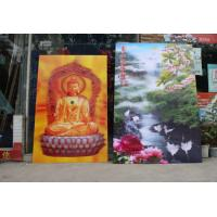 China Large size 3d poster 3d lenticular printing service 3d lenticular picture-3d lenticular flip picture 3d moving pictures on sale