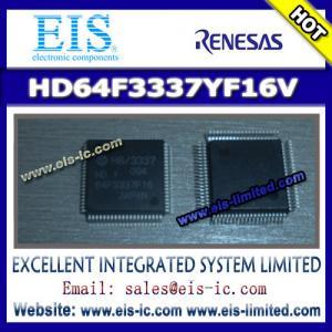 China HD64F3337YF16V - RENESAS - Hitachi Single Chip Microcomputer on sale