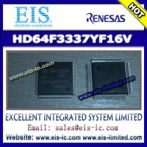 China HD64F3337YF16V - RENESAS - Hitachi Single Chip Microcomputer - Email: sales009@eis-ic.com on sale