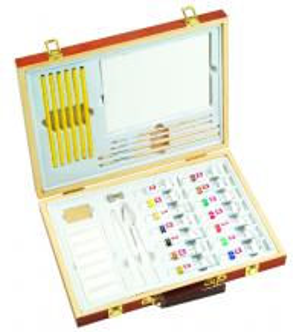 Quality Professional Childrens Art Set Wooden Box , Durable Artist Acrylic Paint Box Set wholesale