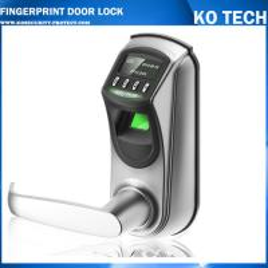 Quality KO-ZL700 500 fingerprint templates fingerprint door lock with OLED display wholesale