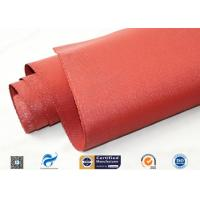 Quality 30oz 39 Red silicone coated fabric  Anti Corrosion Materials wholesale