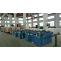 Quality High Efficiency Dry Wire Drawing Machine , PLC Control SS Wire Drawing Equipment wholesale