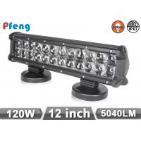 China 12'' 120W 4D Double Row Led Light Bar In Osram LED With Spot Flood Beam on sale