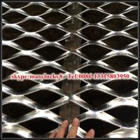 Quality Decorative expanded metal mesh Cladding of outer façades of car parks wholesale