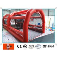 Quality Durable PVC Tarpaulin Inflatable Batting Cages For Kids And Adults wholesale