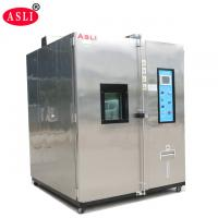 China Lab Constant Temperature Humidity Chamber Inserted Mobile Pulley for PVC Testing on sale