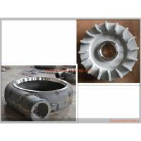 Quality Aier Slurry Pump Parts Centrifugal Pump Impeller Anti Wear A05 / A49 / Cr26 / Cr27 Material wholesale