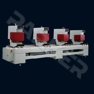 Quality UPVC&PVC Window and Door Machinery Four Heads Seamless Welding Machine wholesale