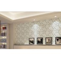 Quality Bily Relief 3D Effect German Plant Fiber Embossed Wallpaper Walls wholesale