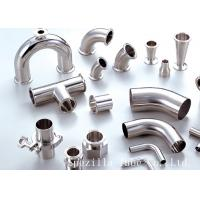 """Cheap 1""""  Shaped Y TEE  BPE Polished TP 316L Stainless Steel Sanitary Fitting for sale"""