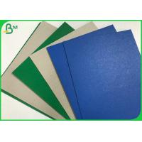Quality Single Side Color Cover Coated Grey Back 1.2mm  2.5mm Duplex Straw Board Sheets wholesale