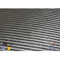 Cheap 3K 200g 0.3mm Twill Weave Carbon Fiber Fabric For Reinforcement , Thermal Insulator Materials for sale