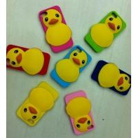 China New design cute cartoon shaped silicone phone case,silicone mobile phone cover on sale