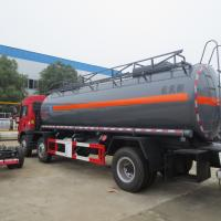 Quality Red FAW 15000L 8×4 Hydrochloric Acid Tanker Truck Diesel Fuel Type Manual Transmission wholesale